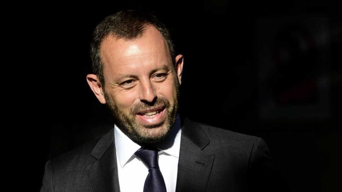 El fiscal pide prisión sin fianza para el expresidente del Barcelona Sandro Rosell