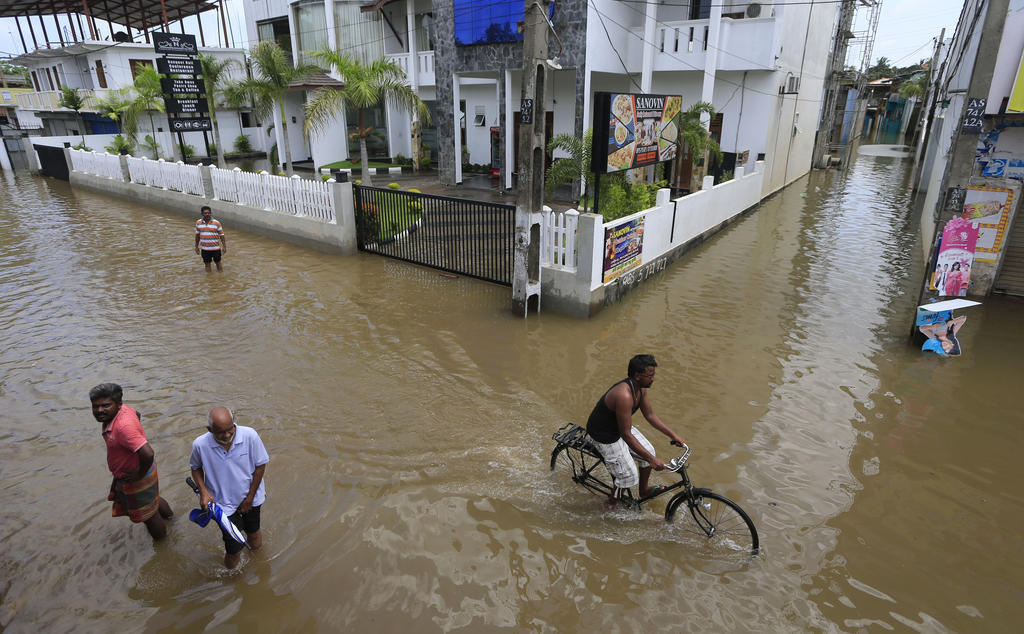 Las inundaciones más graves en más de una década en Sri Lanka dejan 169 muertos