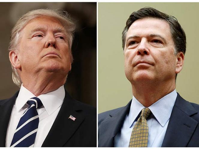 Donald Trump causa sismo político al despedir por sorpresa al director del FBI