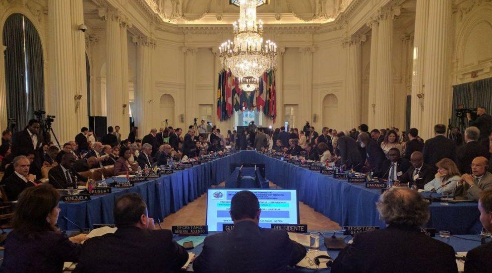 Los cancilleres de la OEA no han logrado acuerdo sobre crisis de Venezuela y seguirán negociando
