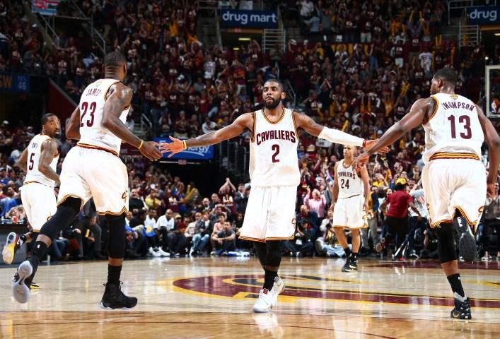 Victoria espectacular de Cleveland Cavaliers ante los Warriors