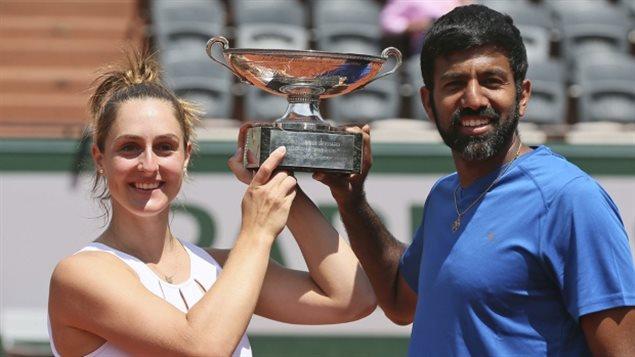 Gabriela Dabrowski tenista canadiense hace historia en el Abierto de Francia