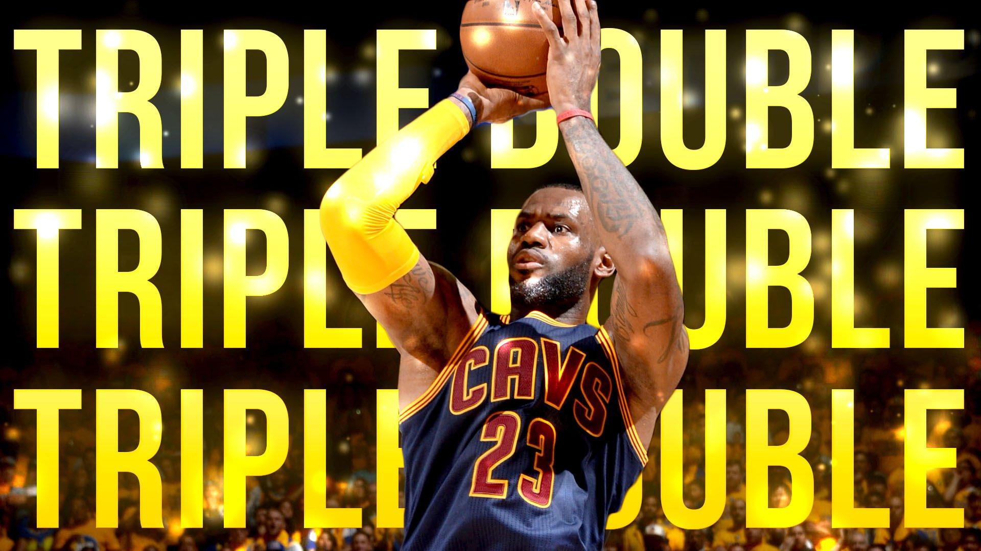 Lebron se convirtió en el primer jugador de la NBA en promediar un triple-doble en unas Finales