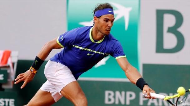 Rafael Nadal logró hoy el pase a octavos de final de Roland Garros