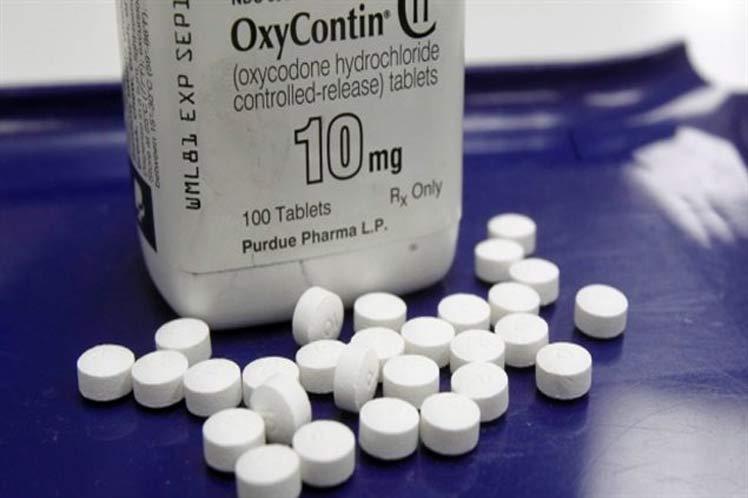 Crisis de opioides en Canada, 7 muertes por día en el 2016