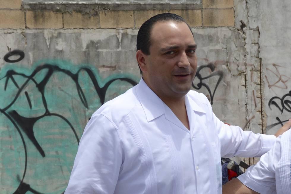 Exgobernador de Quintana Roo en México Roberto Borge fue capturado hoy en Panamá
