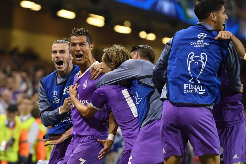 Real Madrid por tercera vez en cuatro años es campeón de la Champions League