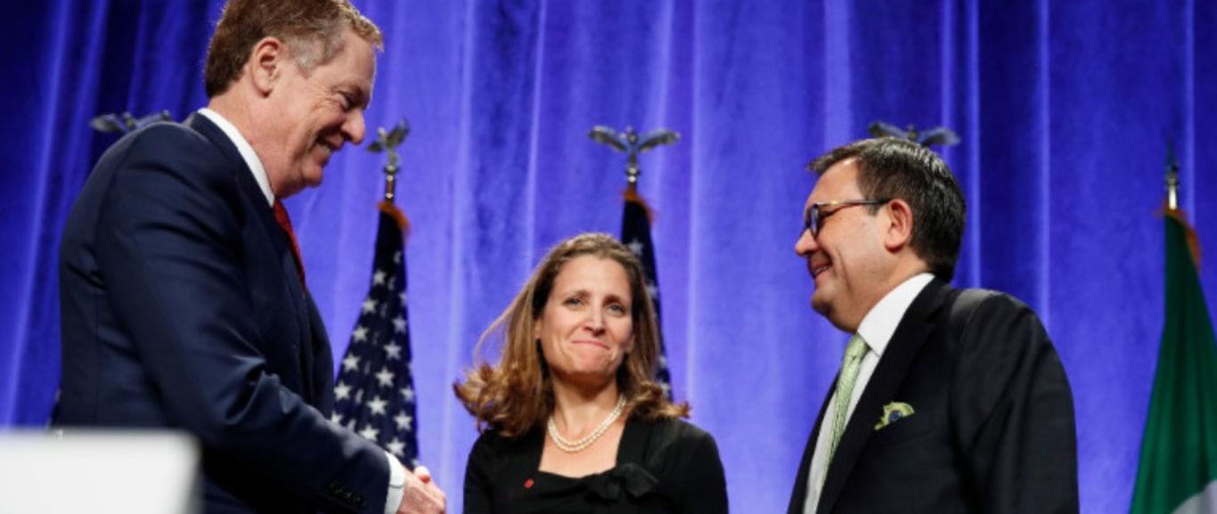 Concluye primera ronda de negociaciones del TLCAN en Washington