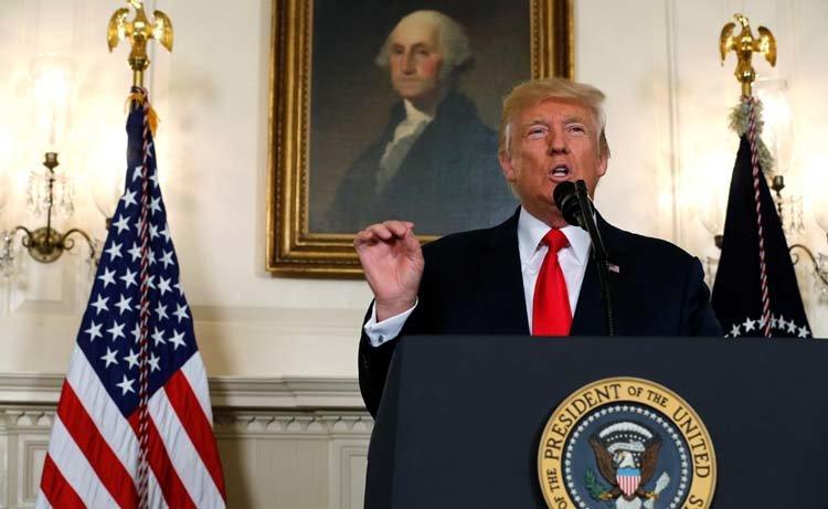Donald Trump Condena la violencia