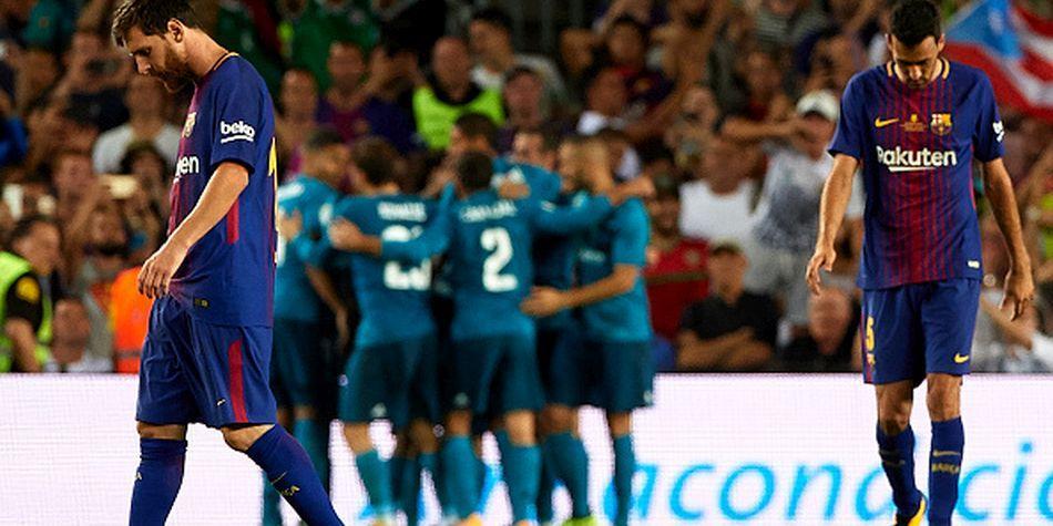 El Barça nunca conquistó el Bernabéu en una Supercopa