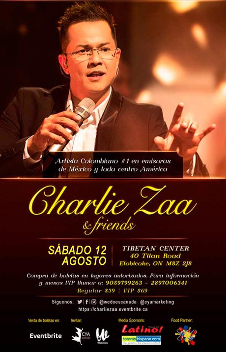 CHARLIE ZAA EN TORONTO