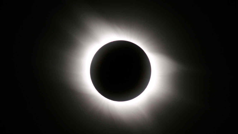 Un eclipse solar será visible hoy en el cielo norteamericano
