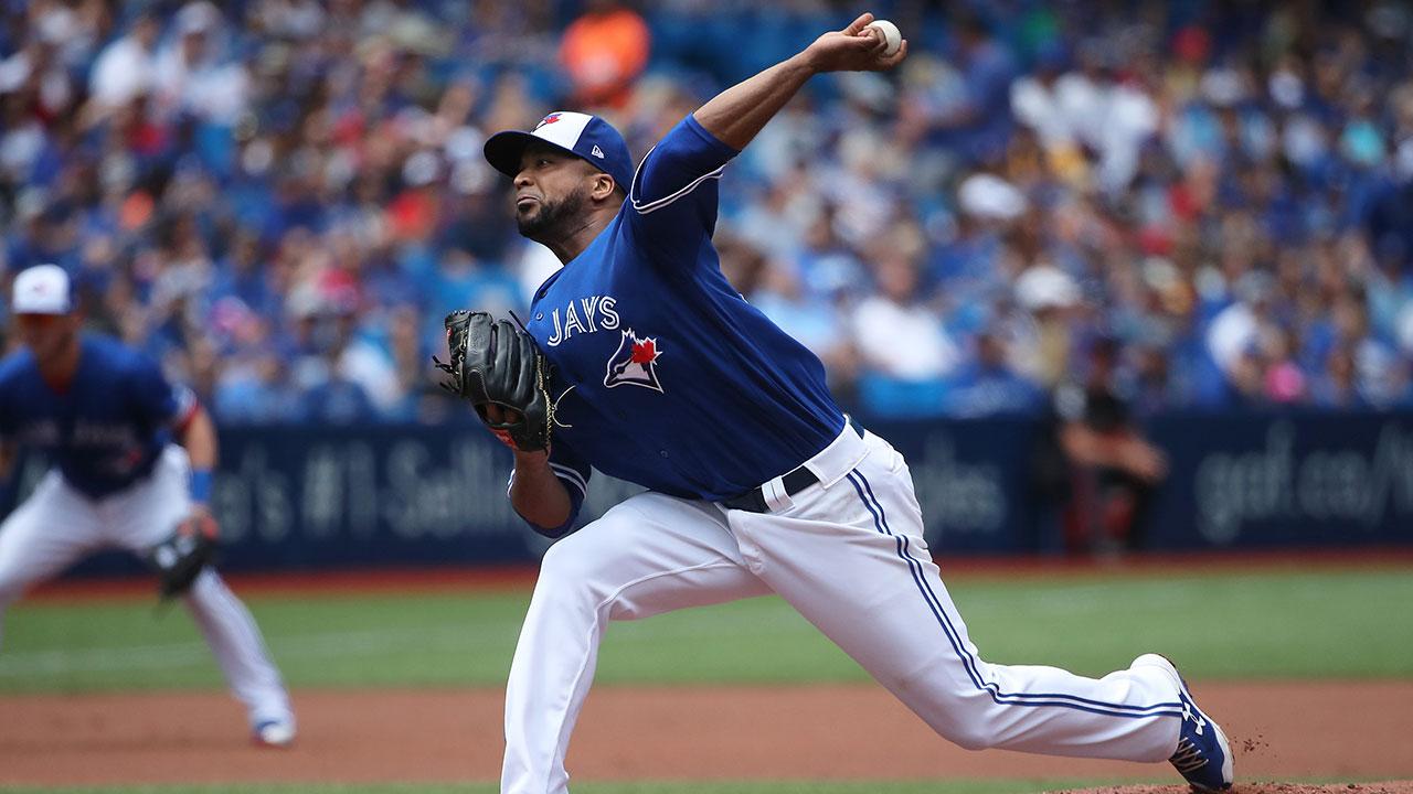 Francisco Liriano fue canjeado de los Azulejos a los Astros