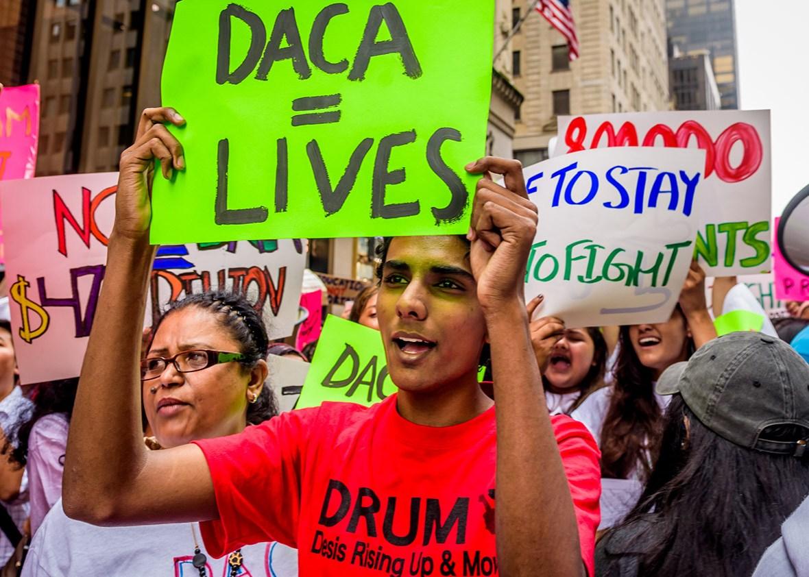 """Trump anula DACA, el programa que protegía a los """"soñadores"""" de la deportación"""