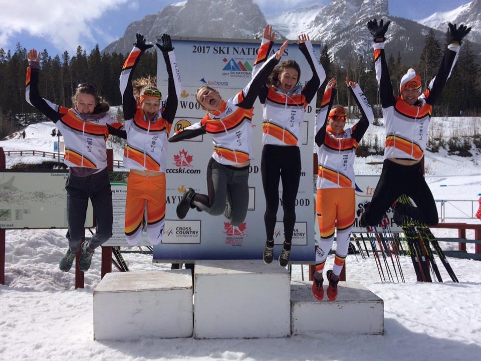 Kimberley's Nordic Race team closes out season at Nationals