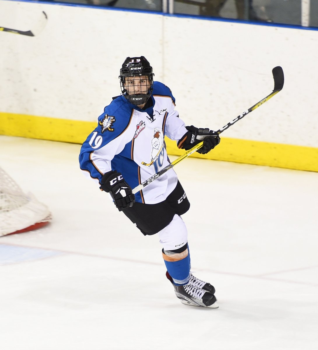 ICE prospect Krebs earns AMHL scoring title