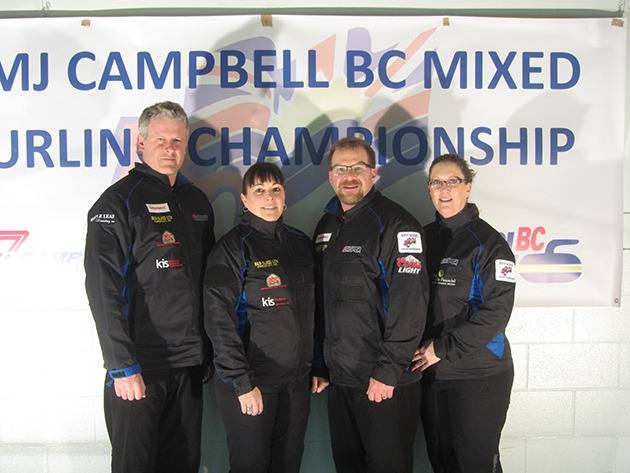 Kimberley's Team Buchy wins 4th Mixed Provincials