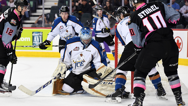 WHL: ICE finish season with 10th straight loss