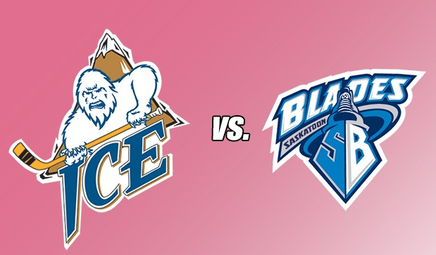 WHL: ICE host Blades for Pink the Rink