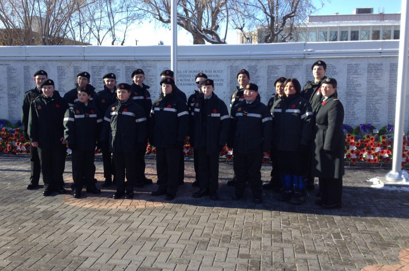 Cranbrook Cadets in France for Vimy Ridge 100th anniversary
