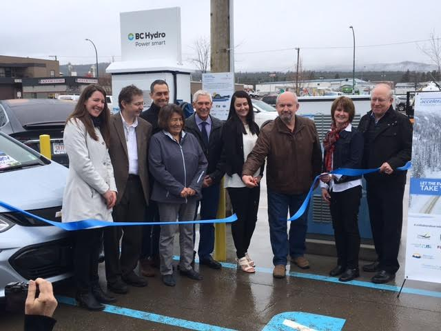 New EV charging station unveiled in Cranbrook part of first of its kind network