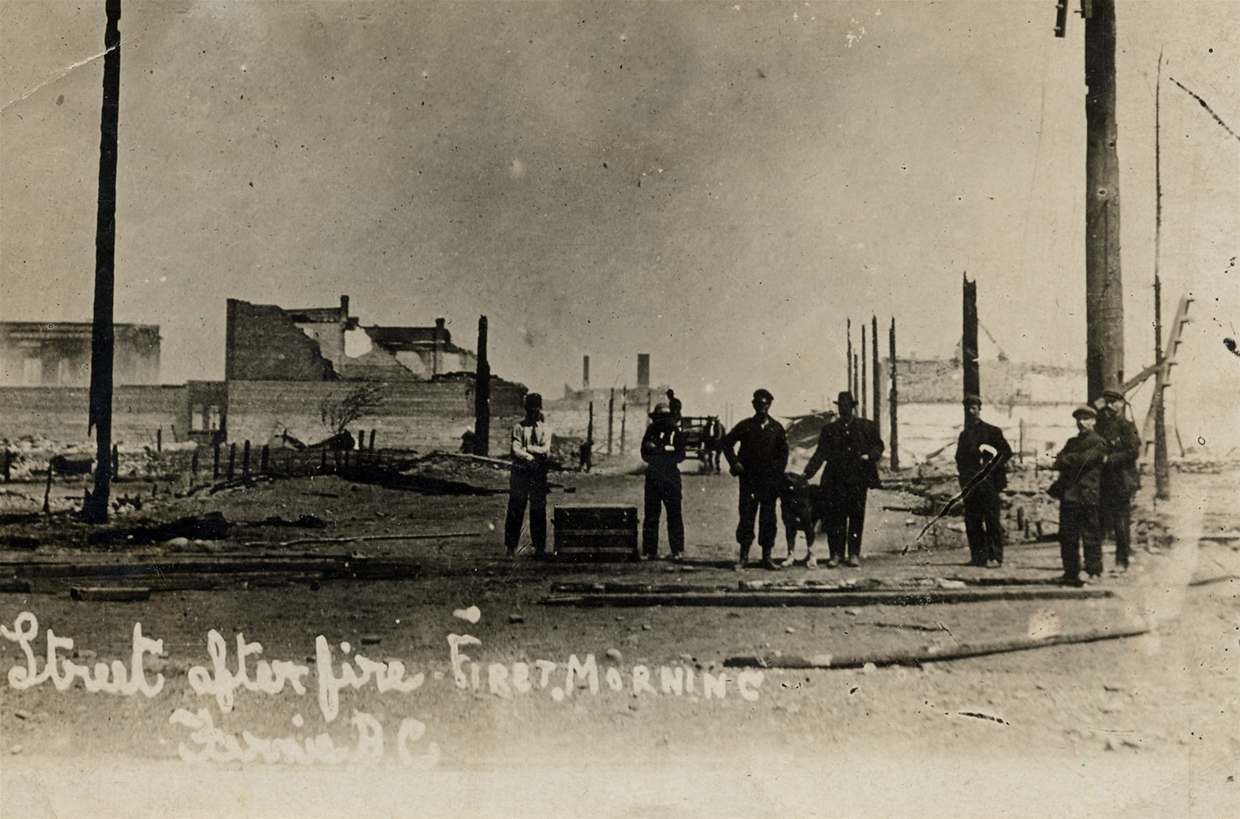 Fernie heritage project to tell story of devastating 1908 fire