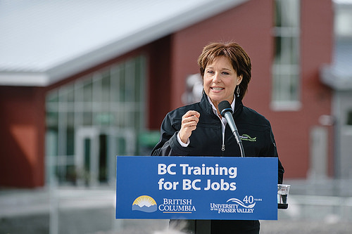 Christy Clark plans to stay on as Premier, despite opposition deal