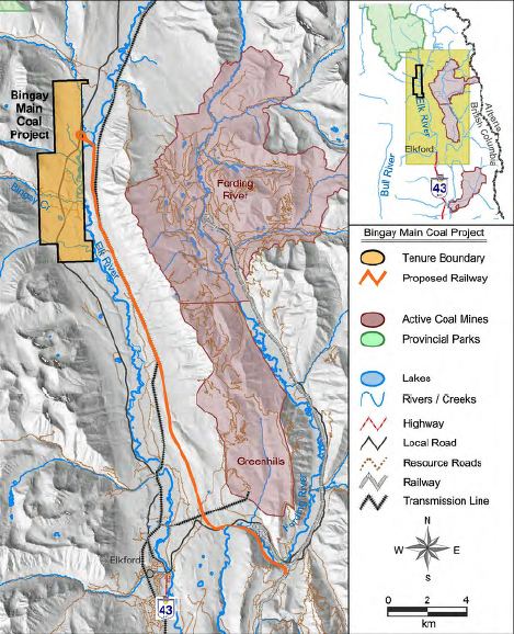 Bingay mine proposed north of Elkford revived