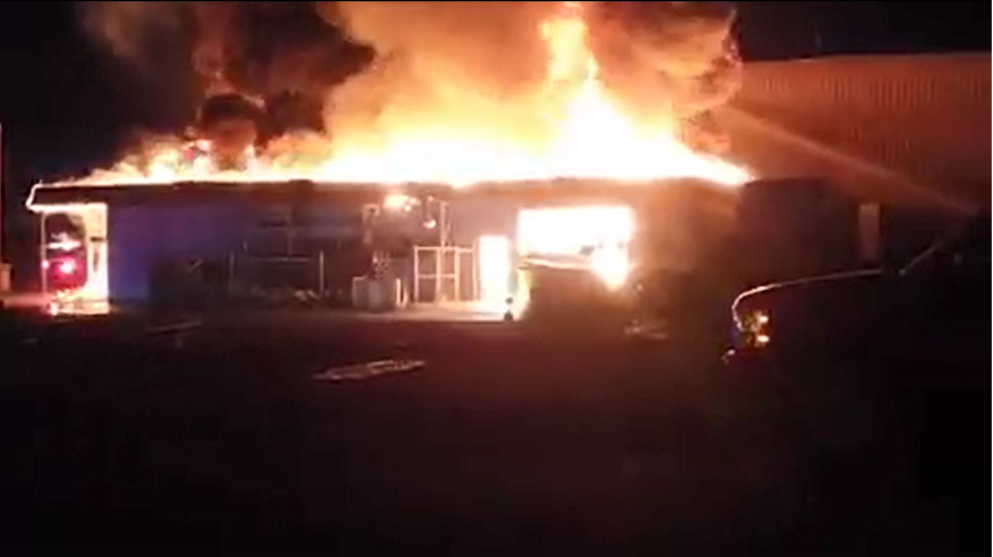 Building destroyed in Cranbrook following early morning blaze