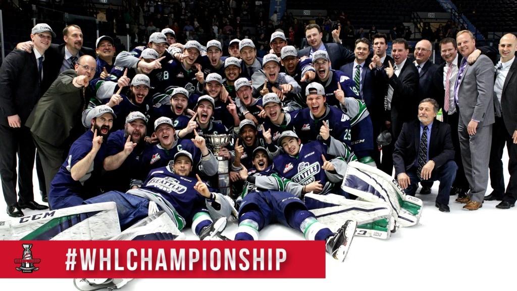 Seattle Thunderbirds claim 2016-17 WHL Championship