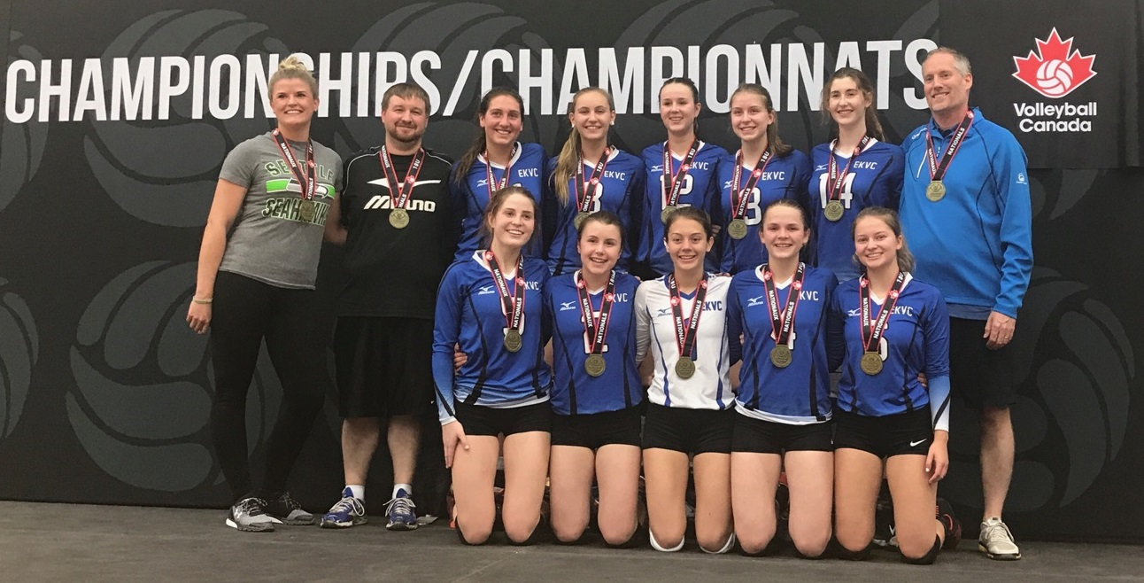 East Kootenay Girls Volleyball club grabs gold at nationals
