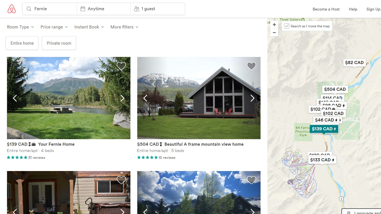 Fernie developing framework to regulate short term rentals