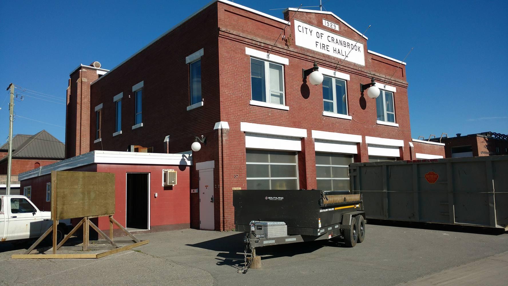 Cranbrook Fire Hall renovations uncovering hidden treasures