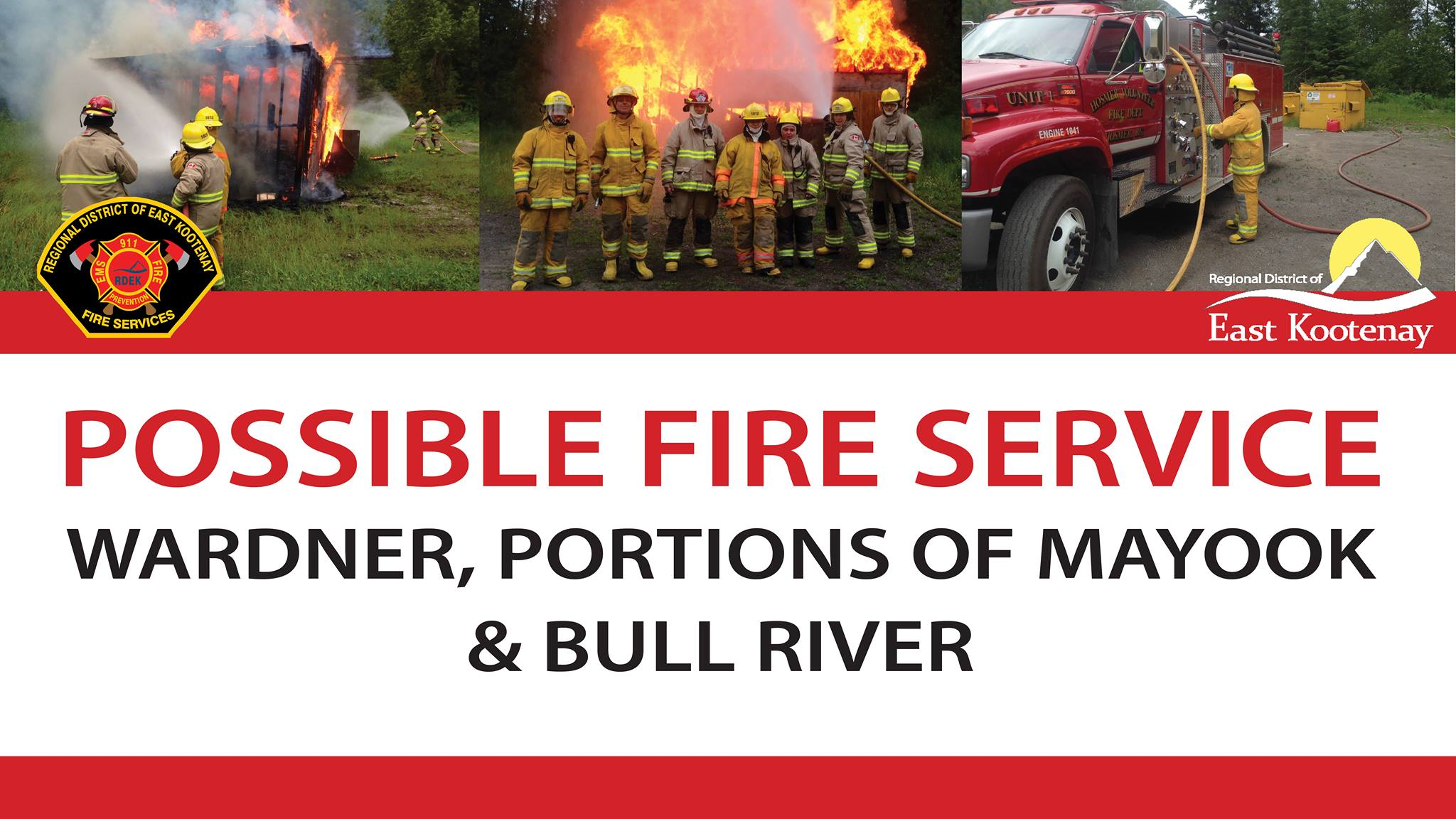 Public meeting in Wadner to discuss fire service expansion