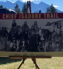 """Chief Isadore Trail"" unveiled as Cranbrook-Wardner connector"