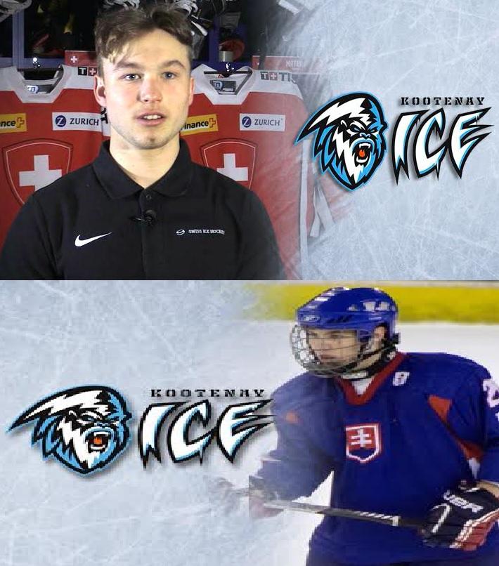ICE take Swiss forward, Slovakian Dman in Import Draft