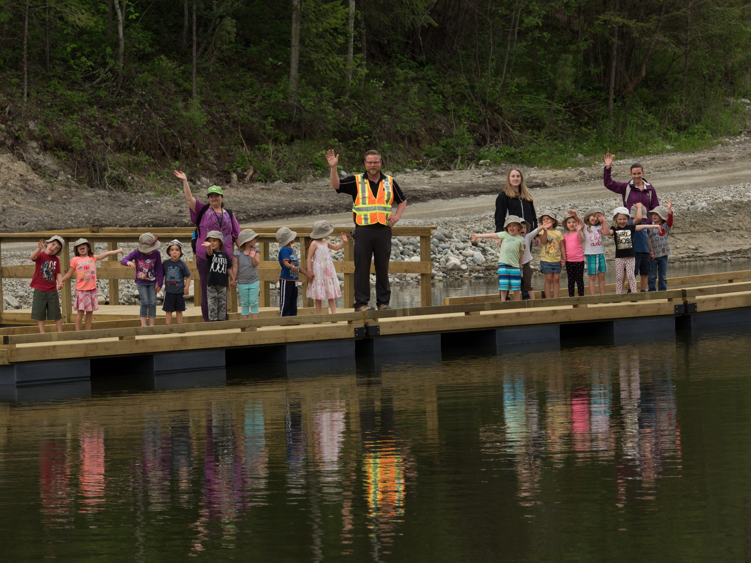 New docks, rainbow trout added to Cranbrook's Idlewild Lake
