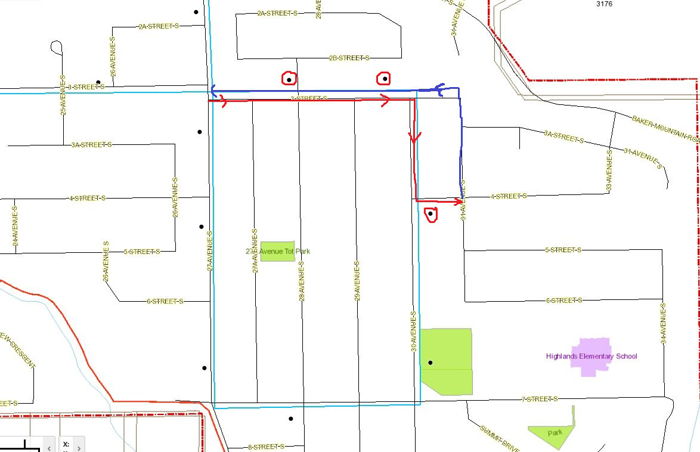 7th Street South construction affects Cranbrook transit services