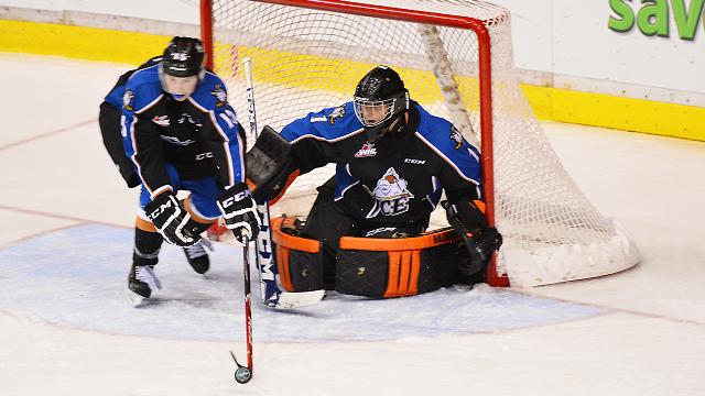 WHL: ICE trade G Hobbs to Spokane for draft pick