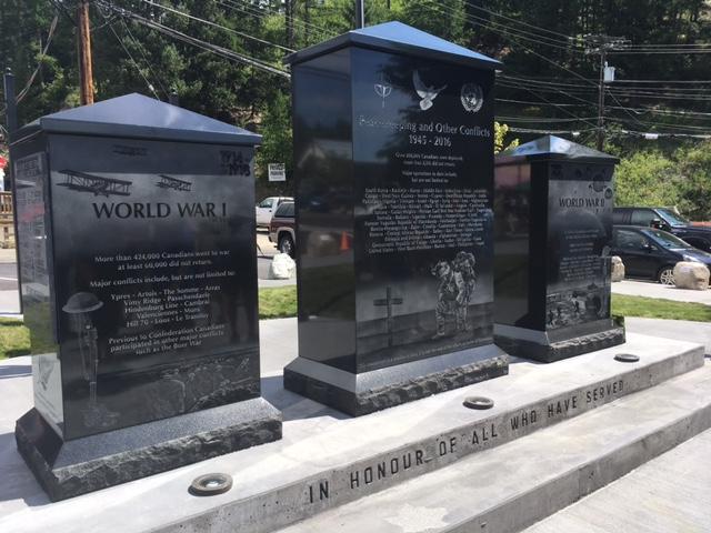 Kimberley opens Veteran Memorial Park