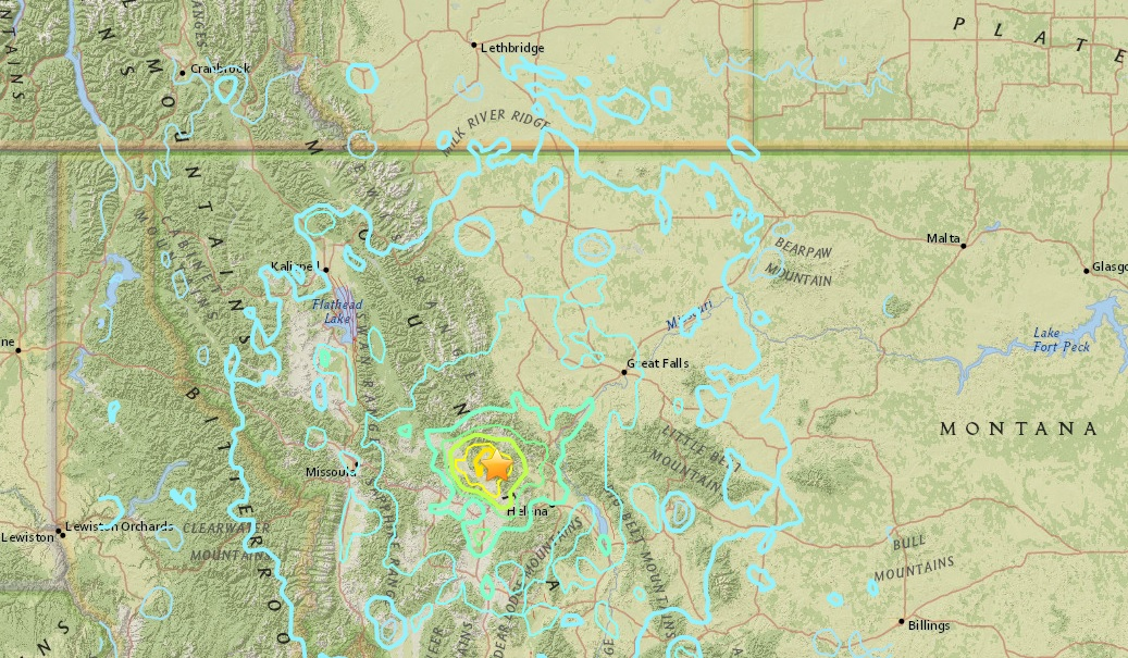 5.8 magnitude earthquake in Montana felt in East Kootenay