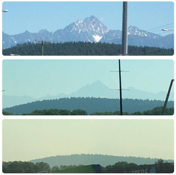 Smoky skies brings air quality advisory back to region