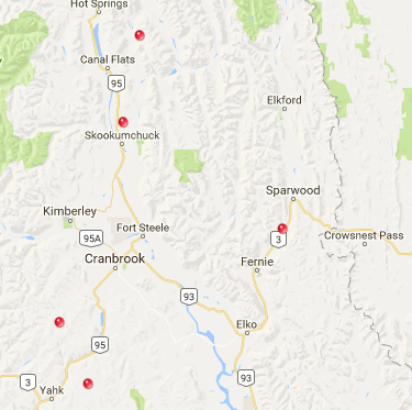 Fire crews trying to control wildfire near Skookumchuk