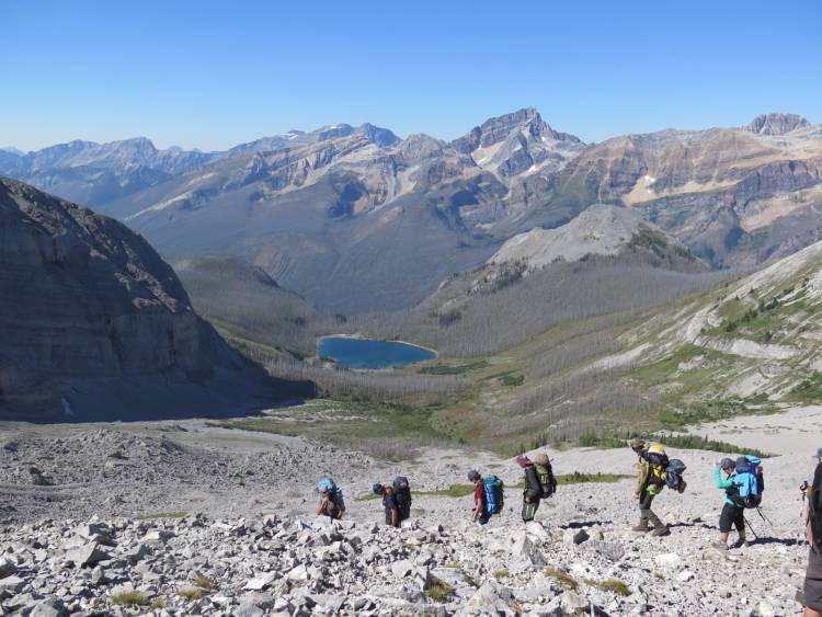 "Youth to ""Go Wild"" on six day hike near Elkford"