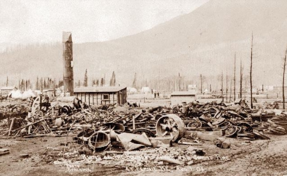 Fernie to commemorate 1908 fire with sculpture