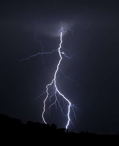 East Kootenay a lightning rod during recent thunderstorms