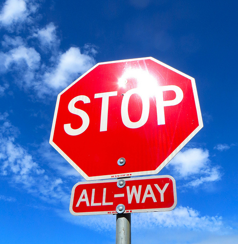 Temporary 4-way stop coming to Cranbrook's Baker St/11th Ave South