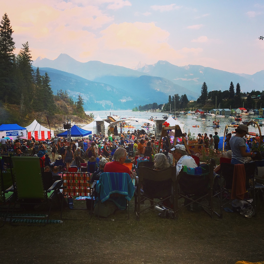 Is there a better place for a festival than Kaslo, BC?