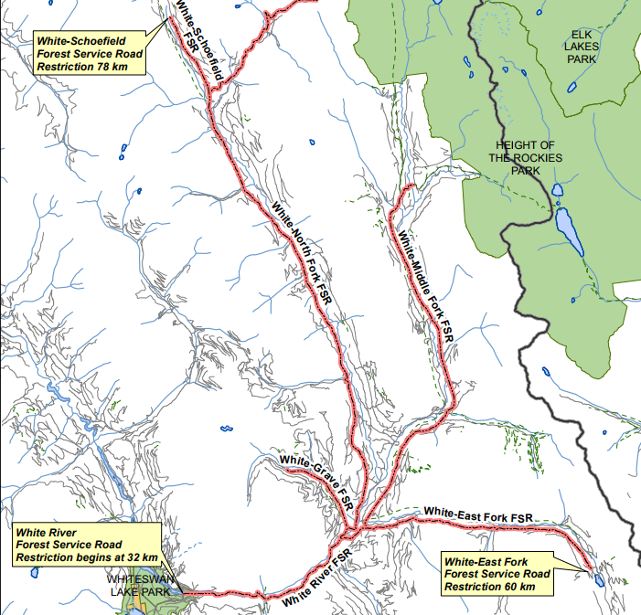 Road restrictions expanded around White River Complex fire
