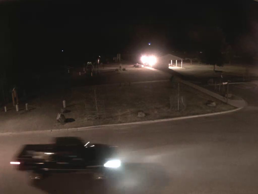 Truck caught on camera damaging Sparwood sports fields